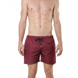 Shorts Liso Vinho